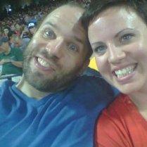 Katie & Luke-- the lucky couple!